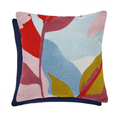 Joules Abstract Floral Cushion 40x40 - Multicoloured