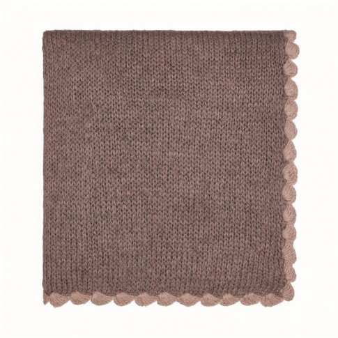 Murmur Scala Knit Throw 130x170cm - Heather