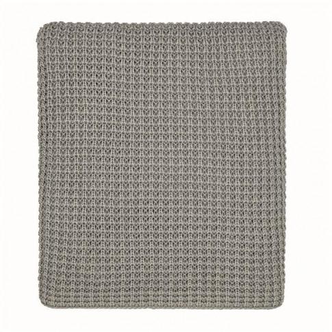 Murmur Kearney Knit Throw 130x170cm - Cloud Grey