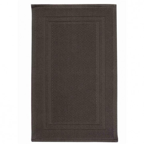 Christy Fina Bath Mat - Charcoal