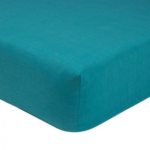 Olivier Desforge Alcove Fitted Sheet - Turquoise