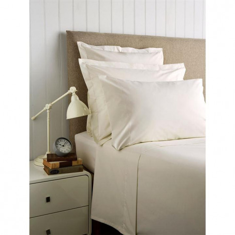 Christy 400 Tc Sateen Standard Pillowcase Pair - Linen