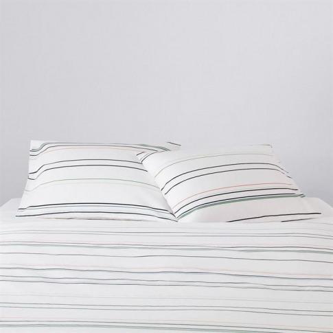 Calvin Klein Stripe 4 Standard Oxford Pillowcase