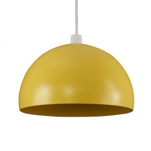 Curva Pendant Shade In Yellow