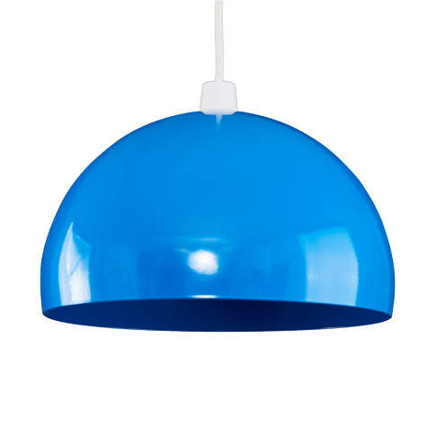 Curva Pendant Shade In Blue