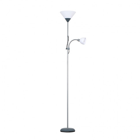 Mozz Silver Mother And Child Floor Lamp