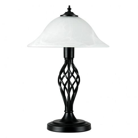 Memphis Black Barley Twist Table Lamp