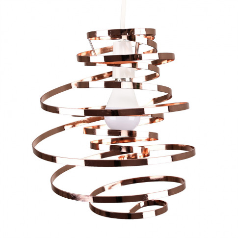 Bensson Twisted Copper Pendant Shade