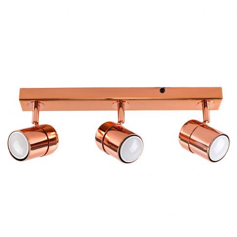 Rosie 3-Way Spotlight Bar In Copper