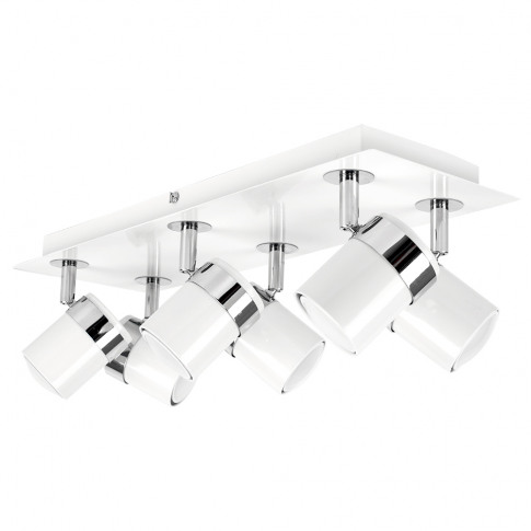 Rosie 6-Way Ceiling Spotlight In White