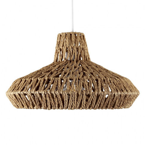Hamilton Weave Natural Pendant Shade