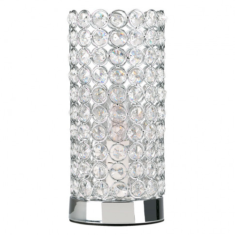 Ducy Chrome K9 Crystal Touch Table Lamp