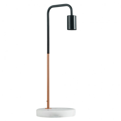 Talisman Copper And Black Table Lamp