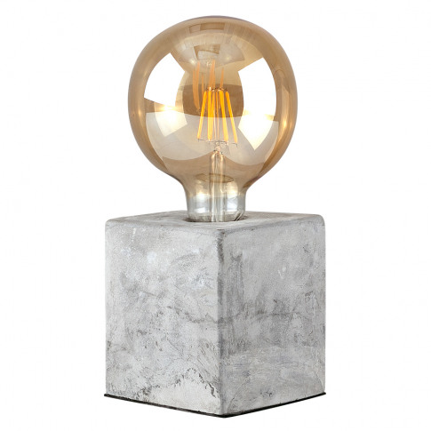 Schofield Concrete Industrial Style Table Lamp