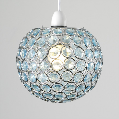 Small Ducy Pendant Shade In Teal