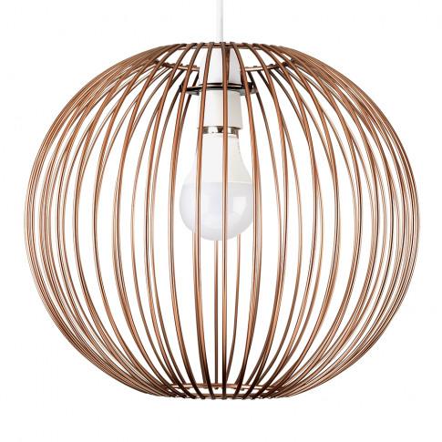 Faraday Basket Pendant Shade In Copper
