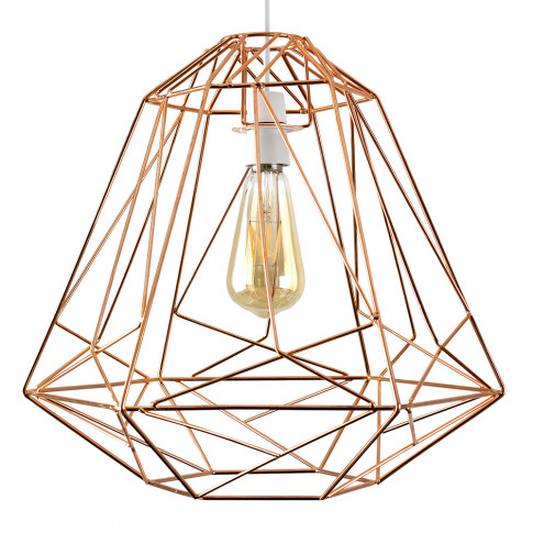 Okko Copper Basket Pendant Shade
