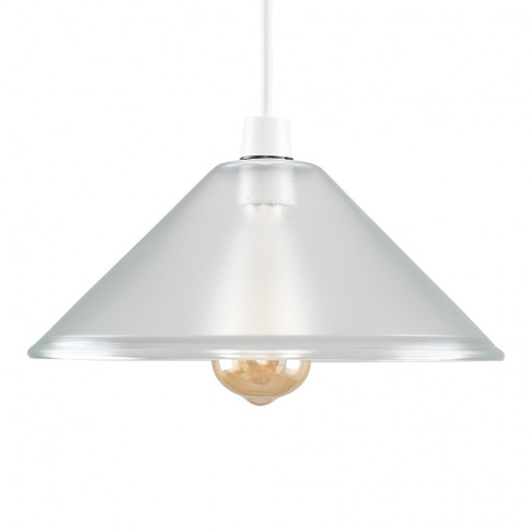 Tapered Dome Translucent Glass Pendant Shade