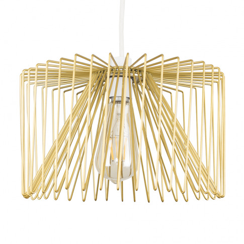 Amadeus Wire Pendant Shade In Gold