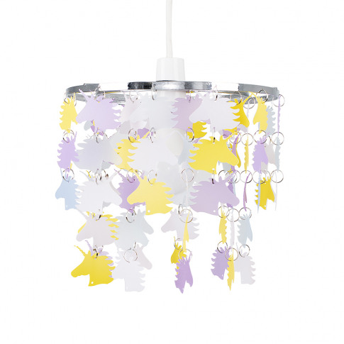 Unicorn Multi Coloured Pendant Shade