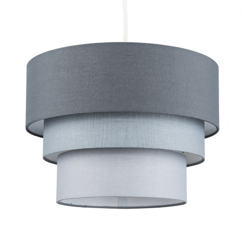 Aztec Pyramid Grey And White Pendant Shade