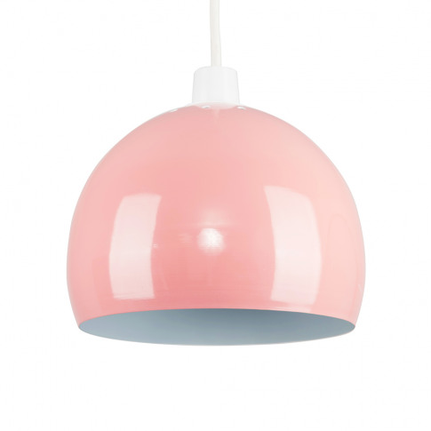 Mini Arco Pendant Shade In Dusty Pink
