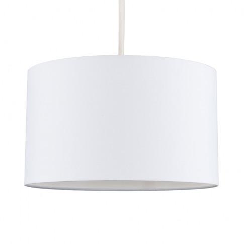 Reni Large Pendant Shade In White