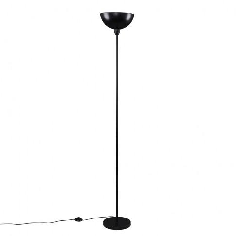 Forseti Uplighter Floor Lamp In Matt Black