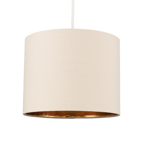 Reni Small Pendant Shade In Fawn And Gold