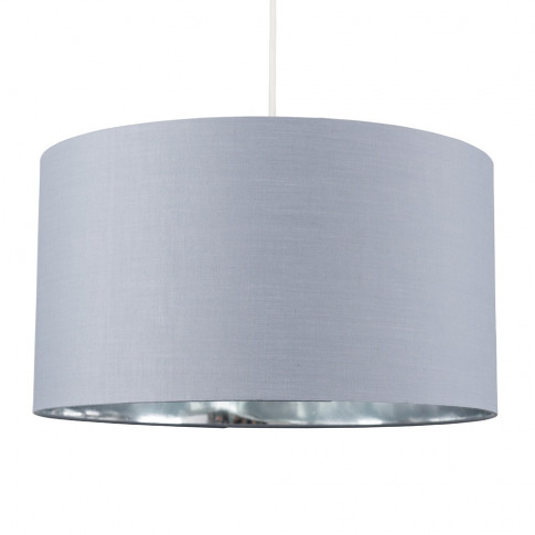 Reni Xl Pendant Shade In Grey And Chrome