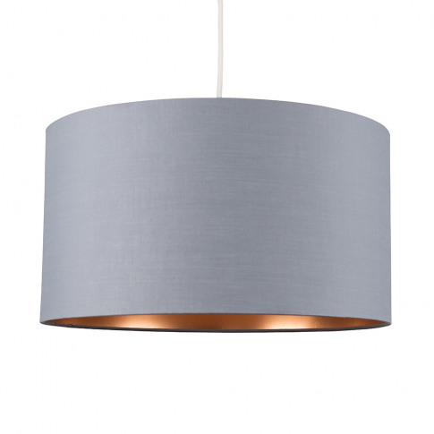 Reni Xl Pendant Shade In Grey And Copper