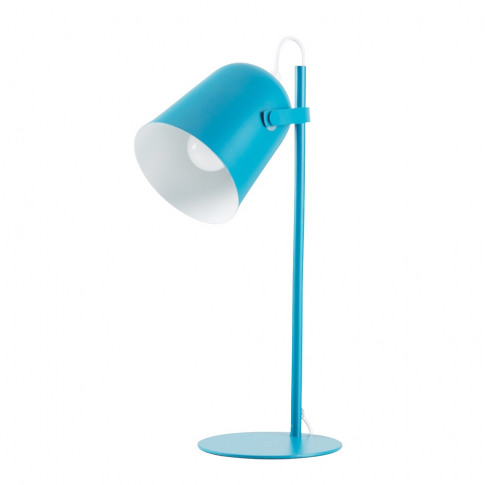 Adley Desk Lamp In French Blue