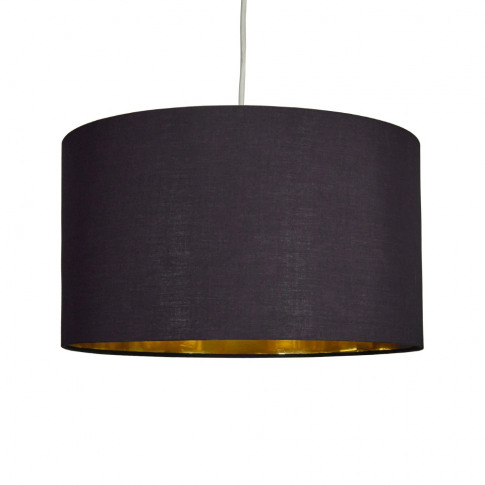 Reni Xl Pendant Shade In Black And Gold