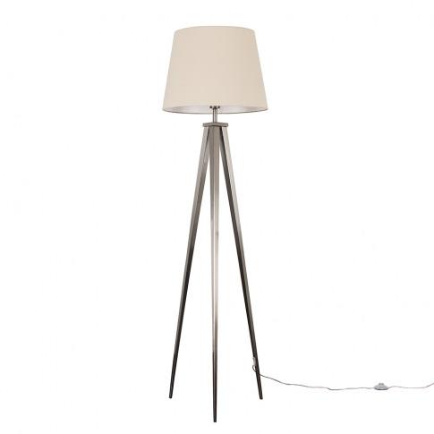 Nero Floor Lamp With Xl Beige Aspen Shade