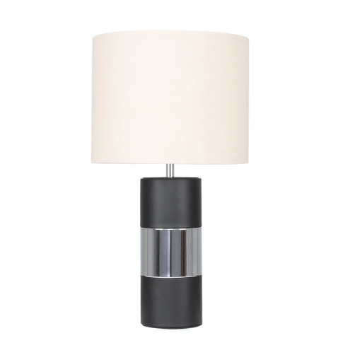 Danilo Touch Table Lamp With Beige Shade