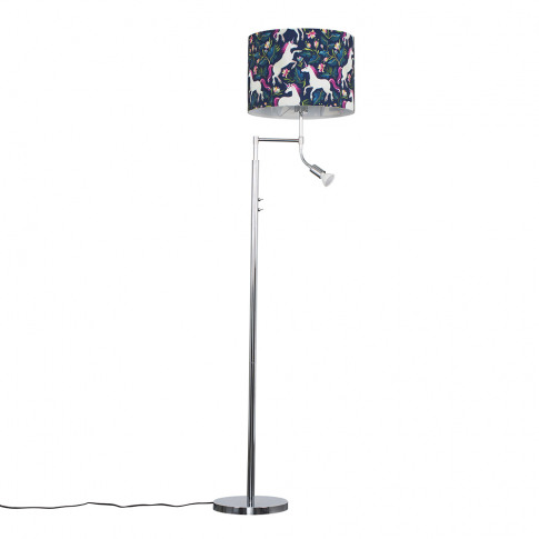 Orick Floor Lamp With Unicorn Shade