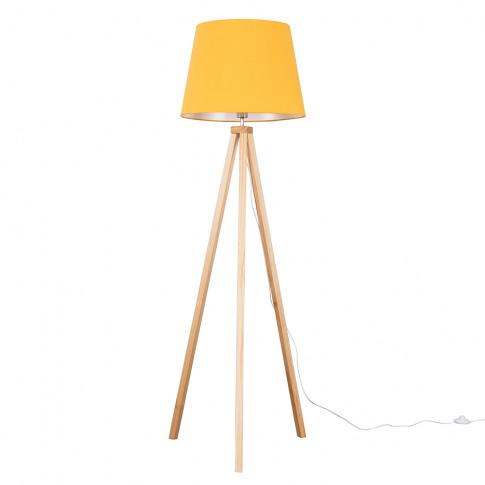 Barbro Light Wood With Xl Mustard Aspen Shade