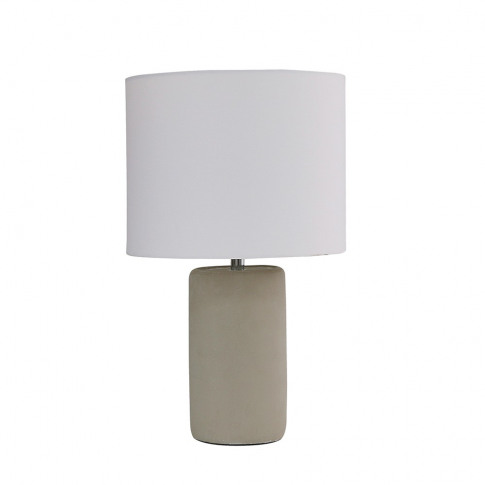 Austin Table Lamp With White Reni Shade