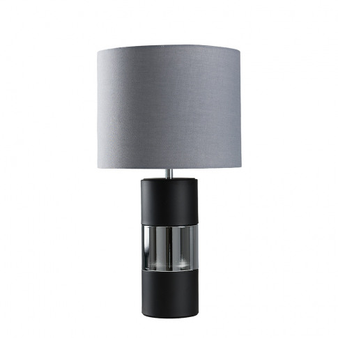 Danilo Touch Table Lamp With Cool Grey Reni Shade