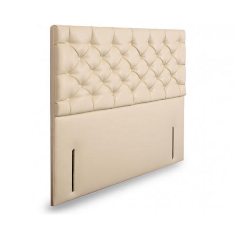 Lavender Fabric Upholstered Floor Standing Headboard...