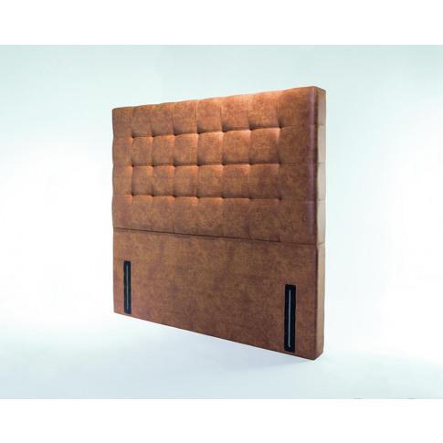 Viscount Upholstered Floor Standing Headboard Single...