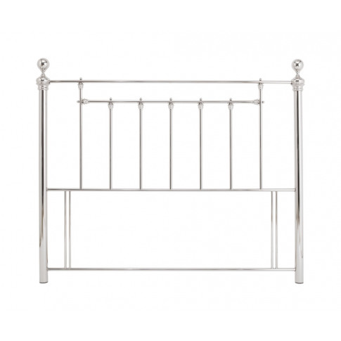 Benjamin Nickel Metal Headboard Small Double Size - 4ft