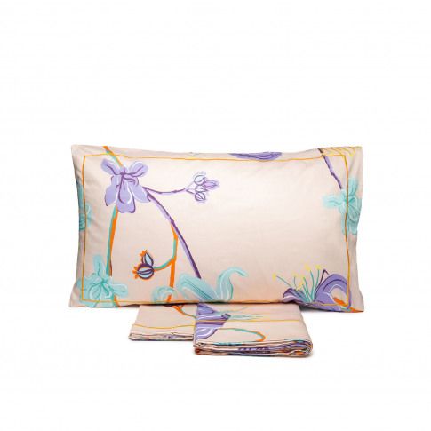 La Doublej Twin Size Gend - Sheet & Pillowcase Set M...