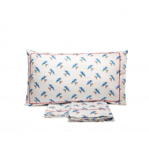 La Doublej Twin Size Gend - Sheet & Pillowcase Set F...