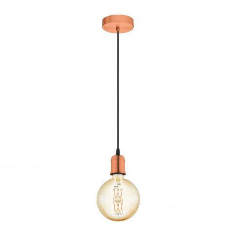 Eglo Yorth Ceiling Pendant Light, Copper