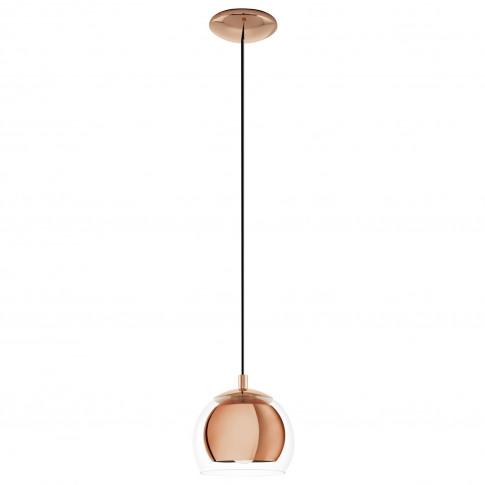Eglo Rocamar Pendant Light, Copper