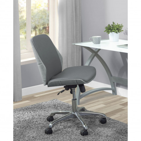 Jual Universal Swivel Office Chair - Grey