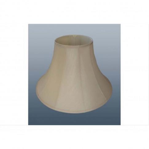 "16"" Cotton Bell Lamp Shade, Cream"
