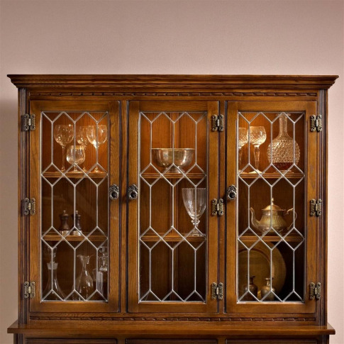 Old Charm Lancaster Display Cabinet Top