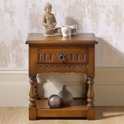 Old Charm Lamp Table